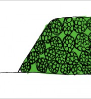 てぬぐい(屋島)1,200円税別 サイズ:900×350cm